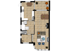 Huijghenslaan 13 te Arnhem - Huijghenslaan 13 te Arnhem made with Floorplanner