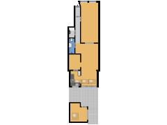 Hasebroekstraat 39 hs, Amsterdam - Hasebroekstraat 39 hs, Amsterdam made with Floorplanner