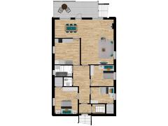 Inviso #274310 / FloorPlan #72291 - Inviso #274310 / FloorPlan #72291 made with Floorplanner