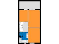 Willem Kloospad 33, 's-Hertogenbosch - Willem Kloospad 33, 's-Hertogenbosch made with Floorplanner