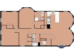 291 Windsor Street 2 - 291 Windsor Street 2 made with Floorplanner