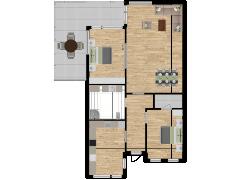 Inviso #270827 / FloorPlan #72367 - Inviso #270827 / FloorPlan #72367 made with Floorplanner