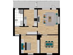 Inviso #274367 / FloorPlan #72378 - Inviso #274367 / FloorPlan #72378 made with Floorplanner