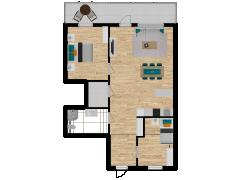 Inviso #257232 / FloorPlan #72377 - Inviso #257232 / FloorPlan #72377 made with Floorplanner