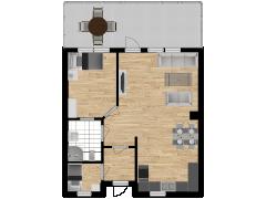 Inviso #274533 / FloorPlan #72374 - Inviso #274533 / FloorPlan #72374 made with Floorplanner