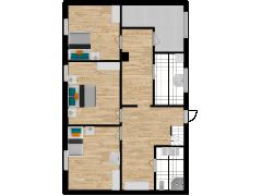 Inviso #274692 / FloorPlan #72375 - Inviso #274692 / FloorPlan #72375 made with Floorplanner