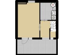 Componistenlaan 57 - Componistenlaan 57 made with Floorplanner