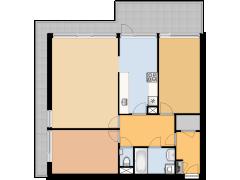 Max Havelaarlaan 361 Amstelveen  - Max Havelaarlaan 361 Amstelveen  made with Floorplanner
