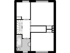Trombonestraat 25 - Trombonestraat 25 made with Floorplanner