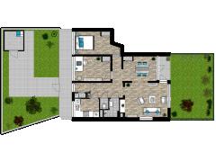 BLEIK-Vechtp14 - BLEIK-Vechtp14 made with Floorplanner