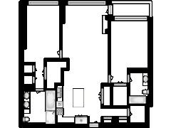 1125 Maxwell Lane Unit 732 Hoboken, NJ 07030 - 1125 Maxwell Lane Unit 732 Hoboken, NJ 07030 made with Floorplanner