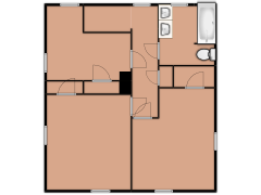 207 Sylvan Street - 207 Sylvan Street made with Floorplanner