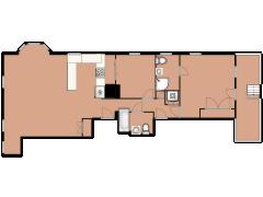 205 Washington Street 6 - 205 Washington Street 6 made with Floorplanner