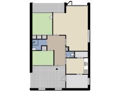 van der Waalspad 15, Assen - van der Waalspad 15, Assen made with Floorplanner
