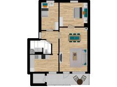Inviso #277947 / FloorPlan #74081 - Inviso #277947 / FloorPlan #74081 made with Floorplanner