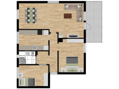 Inviso #277726 / FloorPlan #74085 - Inviso #277726 / FloorPlan #74085 made with Floorplanner