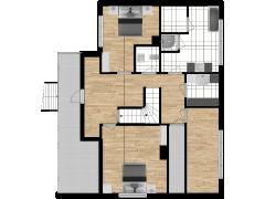 Inviso #276265 / FloorPlan #74097 - Inviso #276265 / FloorPlan #74097 made with Floorplanner