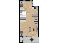 Inviso #278082 / FloorPlan #74110 - Inviso #278082 / FloorPlan #74110 made with Floorplanner