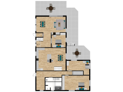 Inviso #275135 / FloorPlan #74105 - Inviso #275135 / FloorPlan #74105 made with Floorplanner