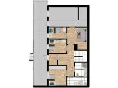 Inviso #277185 / FloorPlan #74109 - Inviso #277185 / FloorPlan #74109 made with Floorplanner