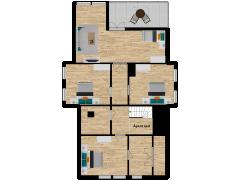 Inviso #277694 / FloorPlan #74091 - Inviso #277694 / FloorPlan #74091 made with Floorplanner