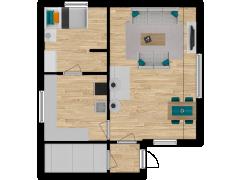 Inviso #277719 / FloorPlan #74046 - Inviso #277719 / FloorPlan #74046 made with Floorplanner