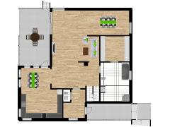 Inviso #277333 / FloorPlan #74082 - Inviso #277333 / FloorPlan #74082 made with Floorplanner