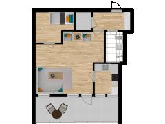 Inviso #280708 / FloorPlan #76202 - Inviso #280708 / FloorPlan #76202 made with Floorplanner