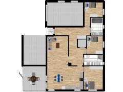 Inviso #280731 / FloorPlan #76170 - Inviso #280731 / FloorPlan #76170 made with Floorplanner