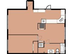 4039 North Mozart Street 2 - 4039 North Mozart Street 2 made with Floorplanner