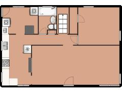 603 North La Londe Avenue - 603 North La Londe Avenue made with Floorplanner