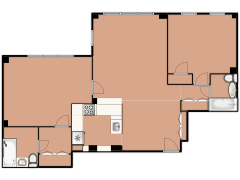 2909 North Sheridan Road 1602 - 2909 North Sheridan Road 1602 made with Floorplanner