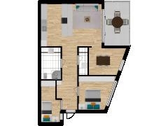 Inviso #280499 / FloorPlan #76388 - Inviso #280499 / FloorPlan #76388 made with Floorplanner