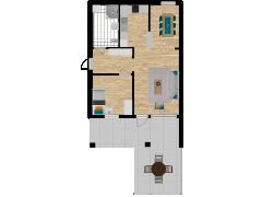 Inviso #281092 / FloorPlan #76392 - Inviso #281092 / FloorPlan #76392 made with Floorplanner