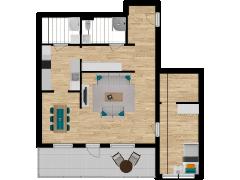 Inviso #280568 / FloorPlan #76397 - Inviso #280568 / FloorPlan #76397 made with Floorplanner