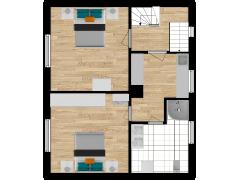 Inviso #280660 / FloorPlan #76391 - Inviso #280660 / FloorPlan #76391 made with Floorplanner