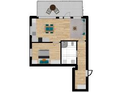 Inviso #280161 / FloorPlan #76394 - Inviso #280161 / FloorPlan #76394 made with Floorplanner