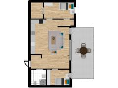 Inviso #280472 / FloorPlan #76505 - Inviso #280472 / FloorPlan #76505 made with Floorplanner