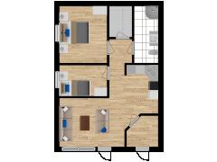 Inviso #279703 / FloorPlan #76514 - Inviso #279703 / FloorPlan #76514 made with Floorplanner
