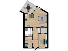 Inviso #279215 / FloorPlan #76507 - Inviso #279215 / FloorPlan #76507 made with Floorplanner