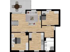 Inviso #279597 / FloorPlan #76509 - Inviso #279597 / FloorPlan #76509 made with Floorplanner