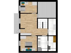 Inviso #276085 / FloorPlan #76511 - Inviso #276085 / FloorPlan #76511 made with Floorplanner