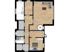 Inviso #278945 / FloorPlan #76909 - Inviso #278945 / FloorPlan #76909 made with Floorplanner