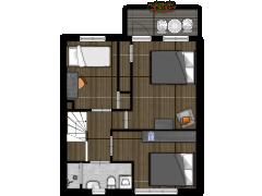 Dahliastraat 6 - Dahliastraat 6 made with Floorplanner