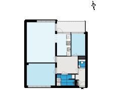 1243 - LING ZO - Koningstraat 36 - Almere - 1243 - LING ZO - Koningstraat 36 - Almere made with Floorplanner