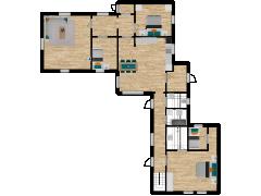 Inviso #278007 / FloorPlan #77111 - Inviso #278007 / FloorPlan #77111 made with Floorplanner