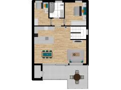 Inviso #280816 / FloorPlan #77122 - Inviso #280816 / FloorPlan #77122 made with Floorplanner
