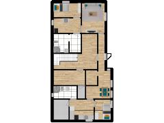 Inviso #267335 / FloorPlan #77054 - Inviso #267335 / FloorPlan #77054 made with Floorplanner