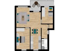 Inviso #279825 / FloorPlan #77053 - Inviso #279825 / FloorPlan #77053 made with Floorplanner