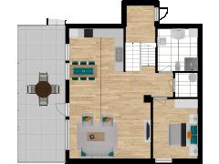 Inviso #279985 / FloorPlan #77124 - Inviso #279985 / FloorPlan #77124 made with Floorplanner